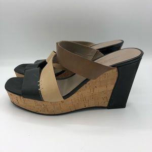 Franco Sarto | Open Toe Wedge Heeled Sandals 8.5
